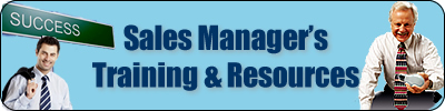 Sales Manager Training Resources