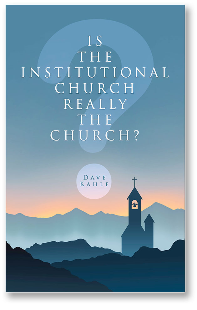 Institutional Church book cover
