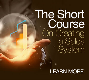 Short course on sales systems